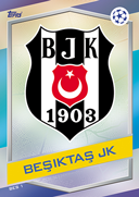Champions League Match Attax 2017<br />Besiktas Cards