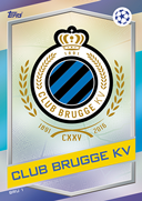Champions League Match Attax 2017<br />Club Brugge Cards