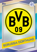Champions League Match Attax 2017<br />Borussia Dortmund Cards