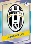 Champions League Match Attax 2017<br />Juventus Cards