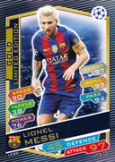 Champions League Match Attax 2017<br />Limited Edition Cards