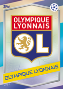 Champions League Match Attax 2017<br />Olympique Lyon Cards