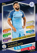 Champions League Match Attax 2017<br />Man Of The Match Cards