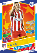Champions League Match Attax 2017<br />Scandinavian Stars Cards