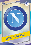 Champions League Match Attax 2017<br />Napoli Cards