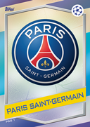 Champions League Match Attax 2017<br />Paris Saint-Germain Cards