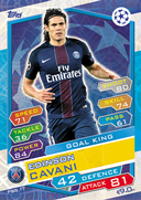 Champions League Match Attax 2017<br />Goal King Cards