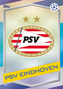 Champions League Match Attax 2017<br />PSV Eindhoven Cards