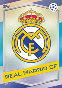 Champions League Match Attax 2017<br />Real Madrid Cards