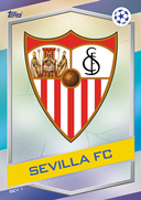 Champions League Match Attax 2017<br />Sevilla Cards
