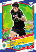 Champions League Match Attax 2017<br />Away Goal Cards