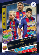 Champions League Match Attax 2017<br />Trio Cards