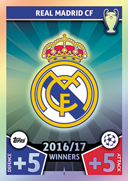 Champions League Match Attax 2018<br />Real Madrid Cards