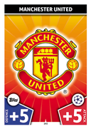 Champions League Match Attax 2018<br />Manchester United Cards