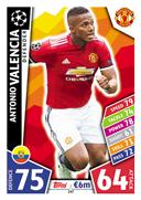 Paul Pogba Match Attax Champions League 17/18-162 Nemanja Matic Manchest