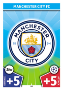 Champions League Match Attax 2018<br />Manchester City Cards