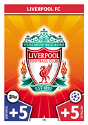 Champions League Match Attax 2018<br />Liverpool Cards