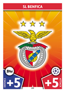 Champions League Match Attax 2018<br />Benfica Cards