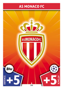 Champions League Match Attax 2018<br />AS Monaco Cards