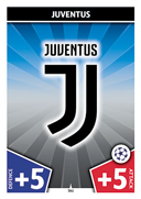 Champions League Match Attax 2018<br />Juventus Cards