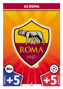 Champions League Match Attax 2018<br />AS Roma Cards