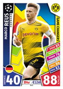 Champions League Match Attax 2018<br />Game Changer Cards