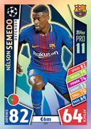 Champions League Match Attax 2018<br />Pro 11 Cards