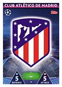 Champions League Match Attax 2019<br />Atletico Madrid Cards