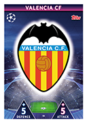 Champions League Match Attax 2019<br />Valencia Cards