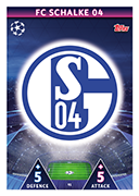 Champions League Match Attax 2019<br />Schalke Cards