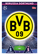 Champions League Match Attax 2019<br />Borussia Dortmund Cards