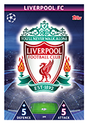 Champions League Match Attax 2019<br />Liverpool Cards