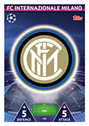 Champions League Match Attax 2019<br />Internazionale Cards