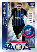 Champions League Match Attax 2019<br />Goal Machine Cards