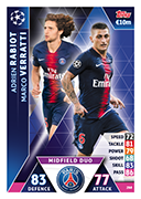 Champions League Match Attax 2019<br />Duo Cards