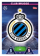 Champions League Match Attax 2019<br />Club Brugge Cards
