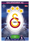 Champions League Match Attax 2019<br />Galatasaray Cards