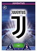 Champions League Match Attax 2019<br />Juventus Cards