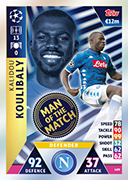 Champions League Match Attax 2019<br />Man Of The Match Cards