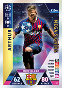 Champions League Match Attax 2019<br />Mega Signing Cards
