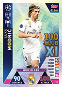 Champions League Match Attax 2019<br />UCL 100 Club Cards