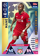 Champions League Match Attax 2019<br />Hat Trick Hero Cards