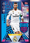 Champions League Match Attax 2019<br />Limited Edition Cards