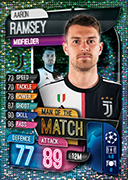 Champions League Match Attax 2020 Man Of The Match Cards