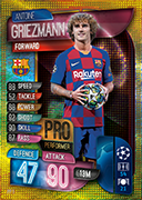 Champions League Match Attax 2020 Pro Performers Cards