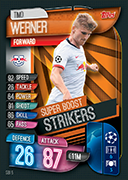 Champions League Match Attax 2020 Super Boost Strikers Cards
