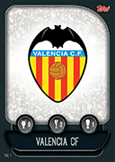 Champions League Match Attax 2020<br />Valencia Cards