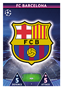Champions League Match Attax On Demand 2019<br />Barcelona Cards