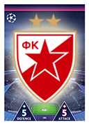Champions League Match Attax Extra 2019<br />Crvena Zvezda  Cards