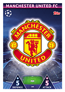 Champions League Match Attax Extra 2019<br />Manchester United Cards